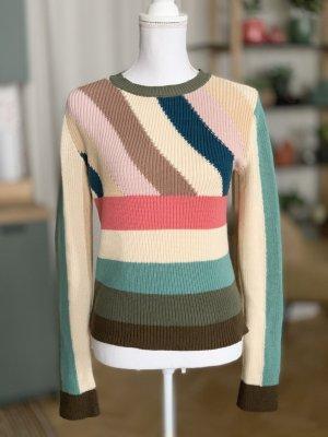 C. Valentino Pull tricoté multicolore coton
