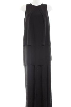 4F Robe longue noir style décontracté