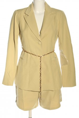 4TH & RECKLESS Tailleur pantalone giallo pallido stile casual
