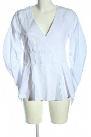 4TH & RECKLESS Long Sleeve Blouse white business style