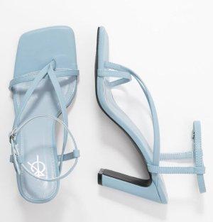 4TH & RECKLESS Sandały na obcasie błękitny