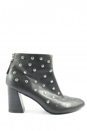 4TH & RECKLESS Zipper Booties black casual look