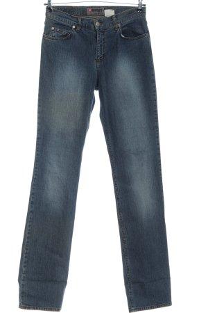 4Wards Jeans vita bassa blu stile casual