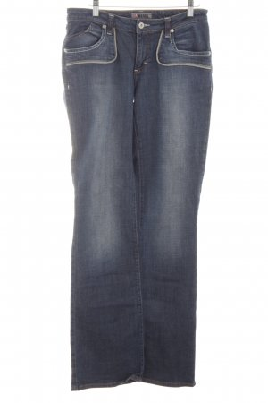 4Wards Boot Cut Jeans blau Casual-Look