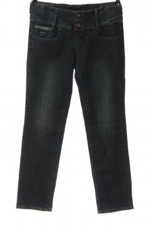 4Wards Straight-Leg Jeans schwarz Casual-Look