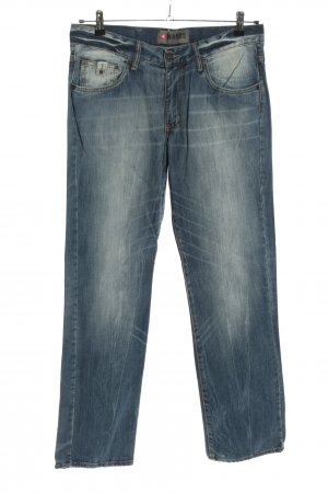 4Wards Straight-Leg Jeans blau Casual-Look