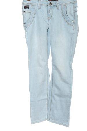 4Wards Jeans a gamba dritta blu stile casual