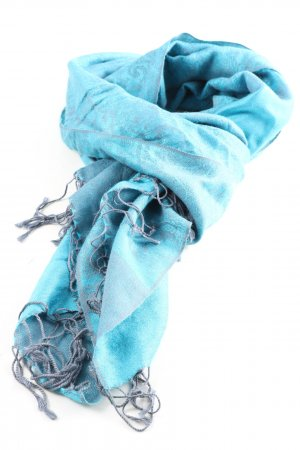 4YOU Summer Scarf blue casual look