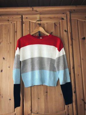 5-farbiger Pullover