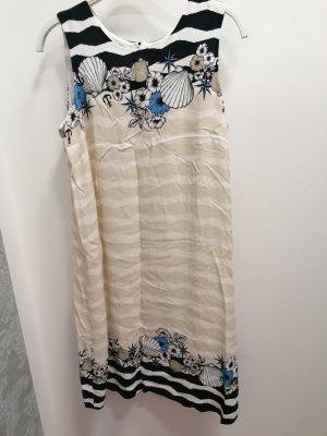 5 Hearts Kleid beige gemustert Gr. 36 neu