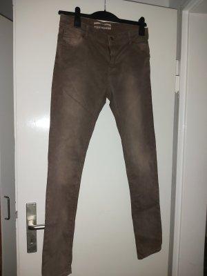 Coccara Jeans slim fit marrone Cotone