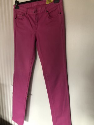 Witty Knitters Pantalon cinq poches rose