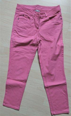 5-Pockt Jeans in Pink