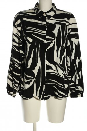 5 Preview Shirt Blouse black-white abstract pattern business style