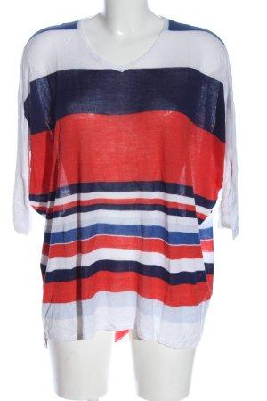 5 Preview T-shirt rayé imprimé allover style décontracté