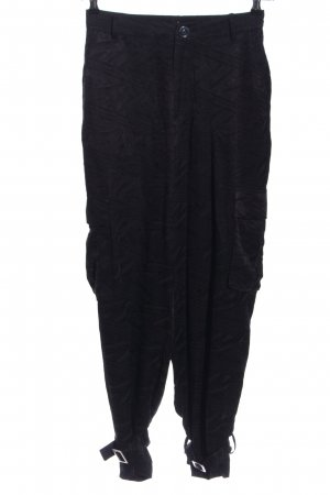 5 Preview Stoffhose schwarz Allover-Druck Casual-Look