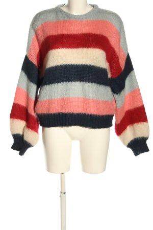 5 Preview Maglione lavorato a maglia motivo a righe stile casual