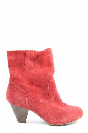 5 th Avenue Booties red casual look