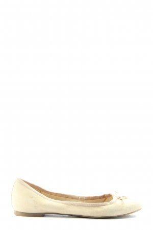 5 th Avenue Foldable Ballet Flats white casual look