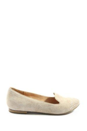 5 th Avenue Foldable Ballet Flats cream casual look