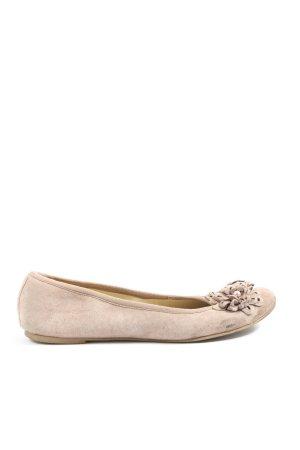 5 th Avenue Classic Ballet Flats light grey casual look