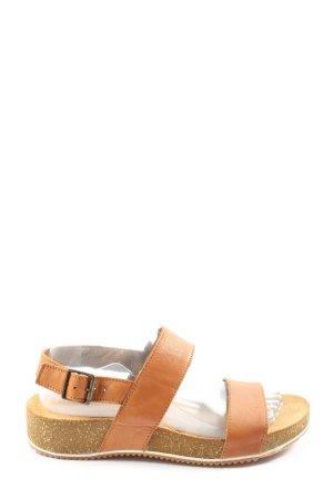 5 th Avenue Comfort Sandals light orange casual look