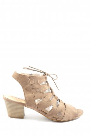 5 th Avenue Strapped Sandals natural white casual look