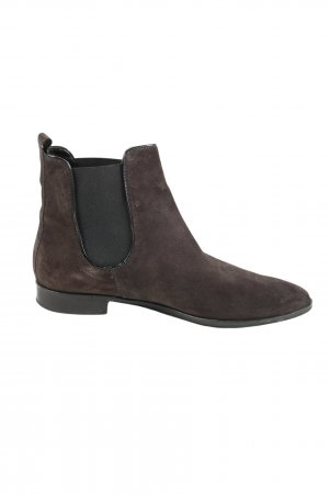 5 th Avenue Slip-on Booties brown casual look