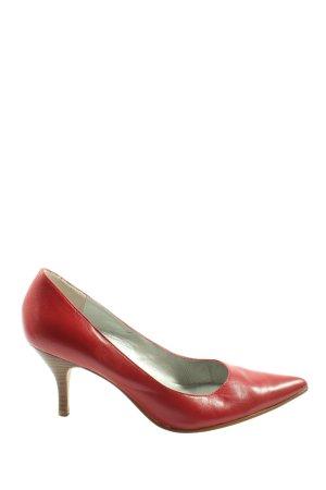 5 th Avenue Stiletto rouge style décontracté