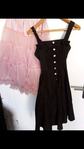 Petticoat Dress black-pink