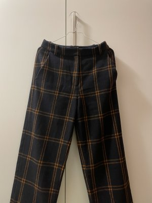 & other stories Woolen Trousers bronze-colored-dark blue
