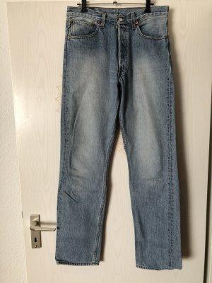 501 LEVI'S Original- Jeans Straight Leg blue denim