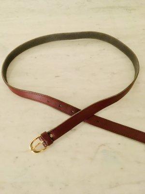 True Vintage Leather Belt multicolored