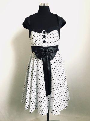 50er Jahre Petticoat -Kleid mit Rückenausschnitt