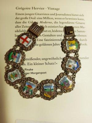 50s 60s Vintage Armband Wappen Souvenir Schwarzwald