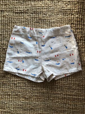 High-Waist-Shorts multicolored