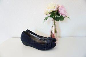 Sailing Shoes dark blue-blue