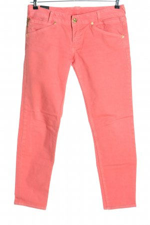55 DSL Straight Leg Jeans red casual look