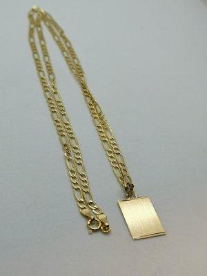 585 Echtgold Halskette mit Anhänger