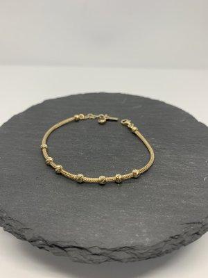 585 gold armband neu verstellbare kugeln