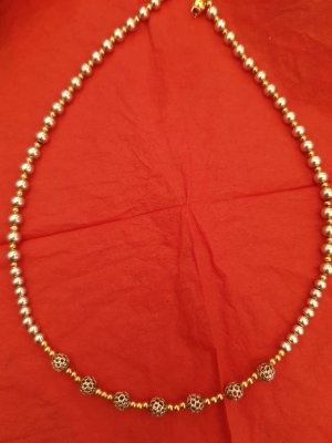 585 Gold Kugel Halskette