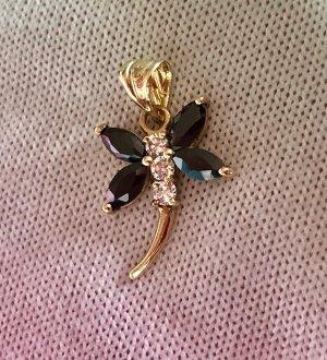 585 Gold Libelle Anhänger