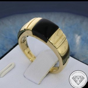 585 Gold Onyx Ring - Juwelier Christ