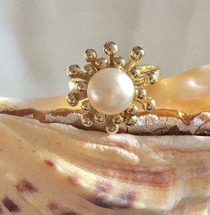 585 Gold Perlenrig, 6 Gramm