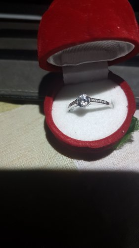 100 Gold Ring white