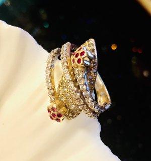 585 Gold Ring Finger umspielendes Design