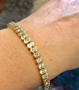 Echtgold Bracelet en or doré