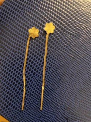 5 Hearts Pendientes de oro amarillo pálido metal