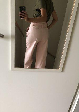 5 Preview Spodnie z wysokim stanem różany Denim