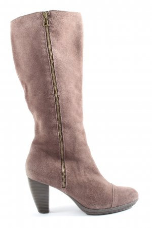 5th Avenue Heel Boots brown casual look
